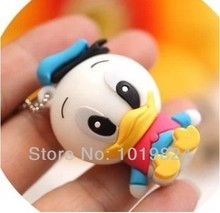 100% real capacity flash Memory girl gift usb flash drives 4gb 8gb 16gb Usb Pen drive lovely duck pendriveping S243(China)