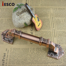 With the hand in hand retro European classical antique door handle door handle door handle large