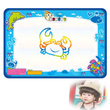 MUQGEW Water Drawing Painting Play mat Writing Mat Educational Activity Developing Board Magic Pen Doodle Gift 50cmX35cm(China)