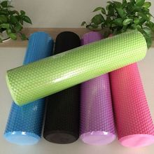 60*15CM Yoga Fitness Equipment EVA Foam Roller Blocks Pilates Fitness for Home Gym Exercises Physio Massage Roller Yoga Block(China)