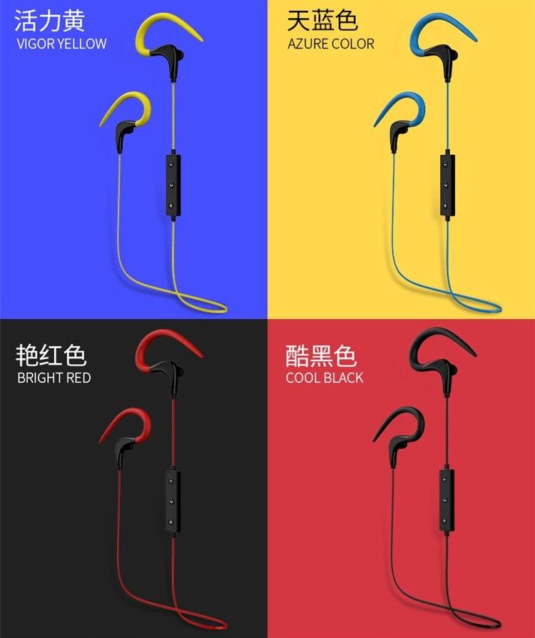 GORSUN  Bluetooth headset  E55 Wireless sports earphone in-Ear mobile phone music earphone