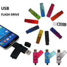 Two-site mobile phone usb flash drive  2gb 4gb 8gb 16gb 32gb 64gb speed rotation usb flash memory pen drive usb stick pendrive