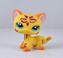Pet Short Hair Cat Collection Child Girl Boy Figure Toy Loose Cute LP836(China)