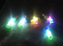 olorful LED Finger Projection Different Cartoon Anime pattern Lights Light-up Rings Party Gadgets Kids Toy For Kids Gift(China)