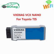 Free Shipping VXDIAG VCX NANO For TOYOTA TIS Techstream V12.10.019 Compatible with SAE J2534 Better Than MINI VCI Top Quality(China)