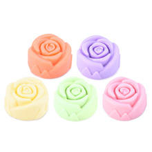 Rose Essential Oils Handmake Facial Soap Face Cleansers Oil Control Ance Treatment Exfoliator Deep Cleansing Facial Care Soap(China)