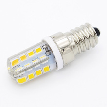 E14 Corn 32LEDs Refrigerator Light SMD 2835 LED 220V Candle bulb Replace 7W Compact Fluorescent Lamp Chandelier