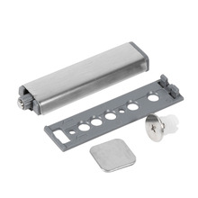 Stainless Steel Case Cabinet Door Drawer Hinge Push to Open System Damper Buffer Catch(China)