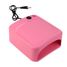 2017 New Arrive Brand New Hot Selling High Quality 36W UV Lamp Light Nail Dryer Manicure Gel With Timer Wholesale Retail(China)