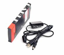 Camera power supply USB 5V to 8.4V dc drive cable for PW20 NP-FW50 DMW-DCC3 BLB13 DR-E6 LP-E6 DR-400 BP-511 DR-E18 dummy battery