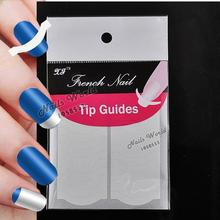 2 Packs White French Nails Art Tips Tape Manicure Sticker Guide Stencil Charming DIY W11