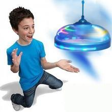 Kids Toys Sensor Flying Saucer UFO Hand Induced Hovering Floating Flight Hand Movements Toy UFO(China)