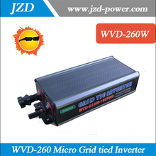 Free shipping! WVD-260W Micro Grid Tied Inverter Input DC22V-50V/ Output AC120V,60HZ Waterproof IP65 MPPT On-grid Inverter