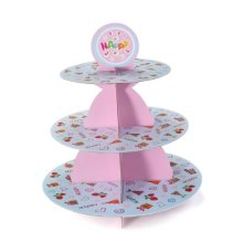 FLST Birthday Party Wedding 3 Tier Cupcake Cake Desserts Stand