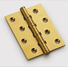 Free Shipping, brass Hinges for timber door / Metal Door, 3mm thickness, Low Noise, 4inch * 3inch* 2.5mm