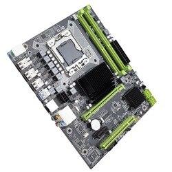 Материнская плата Kllisre X58 LGA 1366 с поддержкой серверной памяти REG ECC и процессора Xeon