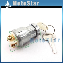 3 Pin On Off Stop Kill Ignition Key Switch For Chinese 50cc 70cc 90cc 110cc 125cc 150cc 200cc 250cc Dune Buggy Go Kart