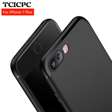 TCICPC Case for iphone 8 8 plus 7 7 plus Ultra thin scrab soft silicon TPU protective back cover phone case for iphone 7 7 plus