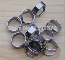 DHL FEDEX 500pcs Stainless Steel Finger Ring Bottle Opener Bar Beer tool Openers Mini 24mm 22mm 20mm 18mm mixed random sizes