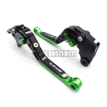 With LOGO ZX6R Motorcycle Brake CNC Brake Clutch Levers  Fits For Kawasaki ZX6R ZX6RR 2000 2001 2002 2003 2004