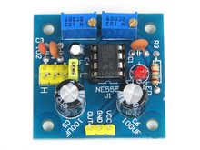 NE555 positive and negative pulse adjustable square wave signal generator kit parts of electronic technology practice training(China)