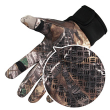 3D Army Tactical Hunting Gloves Camo Antiskid Climbing Hiking Guantes Touchscreen Fleece Outdoor Sports Camping Fishing Gloves