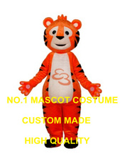 new tiger mascot costume adult size factory custom cartoon tiger cat theme anime cosplay costumes carnival fancy dress kits 2961