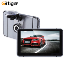 "7"" 1080P Car GPS Navigation DVR Recorder Android 4.0 Quad Core Touch Screen WIFI 140 Degree Camera FM Transmitter Media Player"