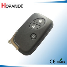 Horande Replacement Smart Key Card For Lexus GS430 GS300 IS350 IS250 3 Button Remote Control Key Cover Case Fobs