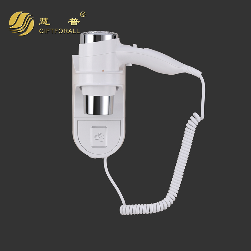 GIFTFORALL Wholesale Professional Wall Mounted Hair Dryer Hot/Cold Air Home Hotel Quality Hair Dryer Brand 67430-T<br>