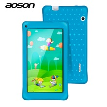 AOSON 7 Inch M751-S PC Tablet For Children Quad Core 8GB ROM 1GB RAM Android 5.1 IPS 1024*600 Screen Dual Camera Bluetooth Wifi(China)
