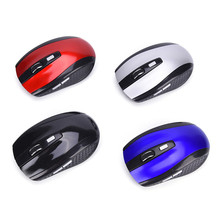 JETTING New 2.4GHz High Quality Wireless Optical Mouse/Mice + USB 2.0 Receiver For PC Laptop(China)