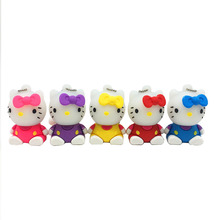 USB 3.0 hello kitty usb flash drive cute cartoon cat usb pen drive 64gb 32gb u disk 16gb 8gb flash memory 2.0 pendrive stick(China)