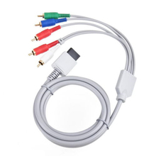 Component Cable Cord AV Cable HDTV/EDTV High Definition 480p for Nintendo Wii()
