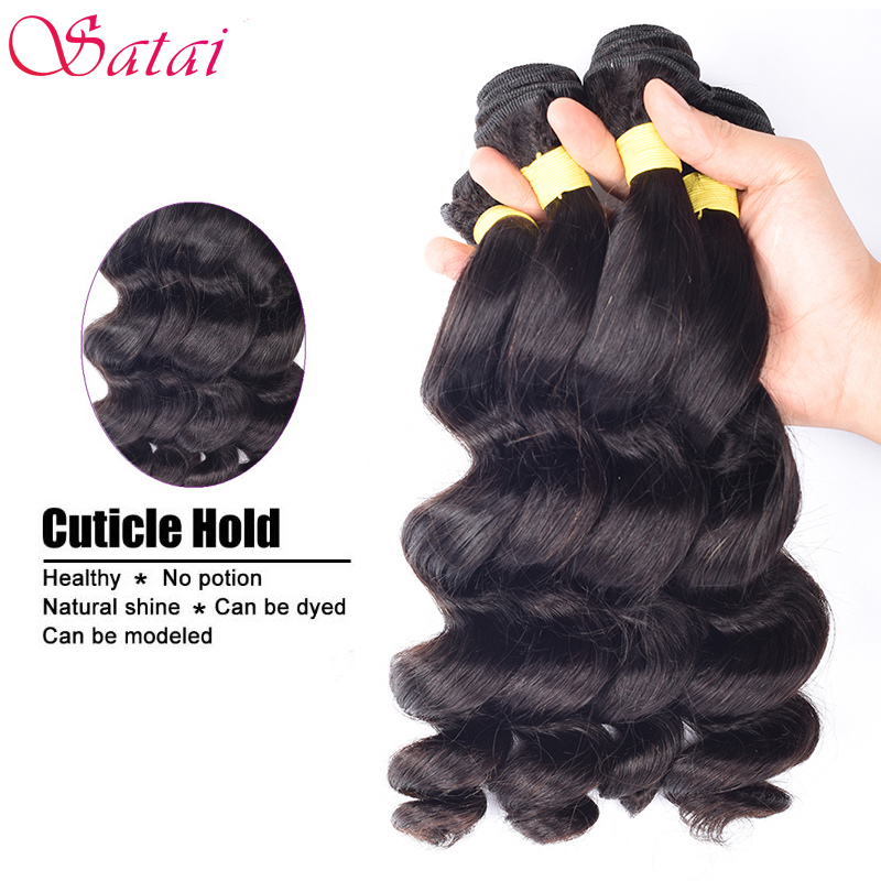 altBurmese Virgin Hair 4Bundles Lot Loose Wave 10A Unprocessed Virgin Hair Burmese Loose Wave Rosa Hair Products Cheap Human Hair