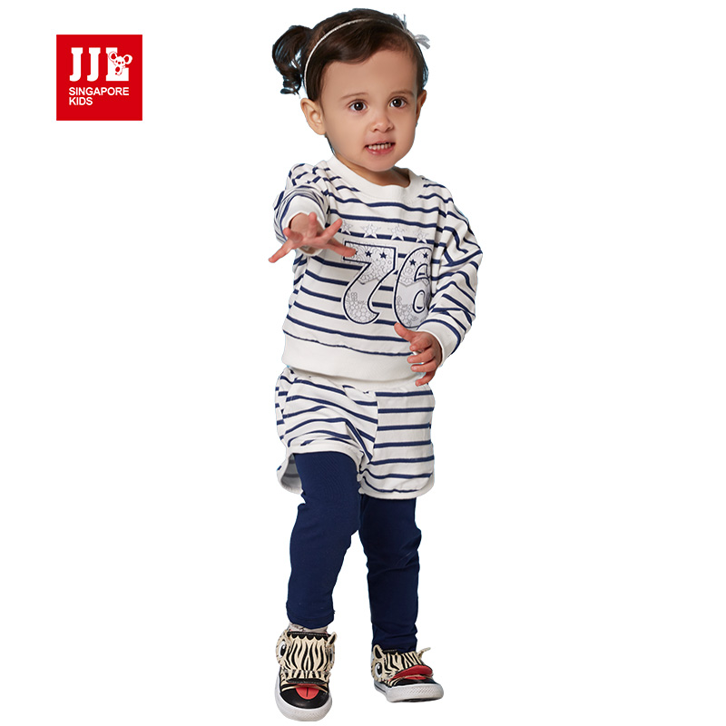 2017 spring baby set  sport fashion set twinset long sleeve set top+ pant, Newborn babies brand quality suit, childrens clothes<br><br>Aliexpress