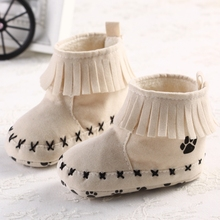 2014 Retail 1pcs Baby First Walker Shoes Autumn and Winter Fashion Korea Warm Snow Baby Toddler Boots Boys Girls Bota infantil