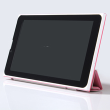 7 Inch Android 4.4 Tablets Pc Mtk Dual core Cpu 3G call 2 SIM card 2G 3G phone call WiFi Tablet Pc leather cover(China)