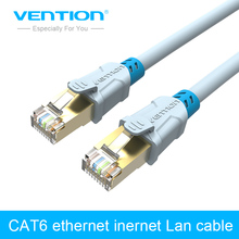 VENTION CAT6 Shielded Twisted Pair Ethernet Network Cable 1m/1.5m/2m/3m/5m RJ45 Patch LAN Cord