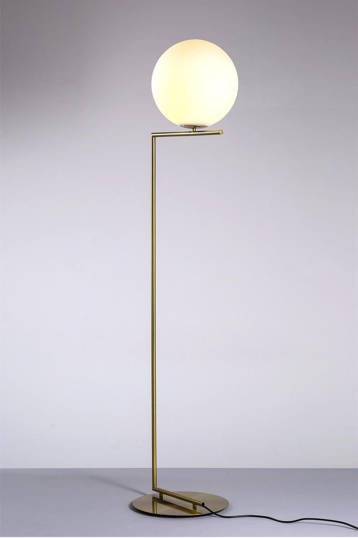 Modern LED Floor Lamp Floor Light Shade Glass Ball Standing Lamp for Bedroom Living Room Gold Designs (19)