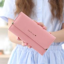 2017 Best Deal Fashion Handbags Lady Women Wallets Bag Popular Purse Long PU Handbags Card Holder Birthday Bags Free Shipping