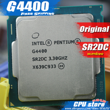 Intel Pentium Processor G4400 LGA1151 3.3GHz / 3MB 14nm Dual-Core 100% working Desktop PC cpu Processor free shipping sell g4560
