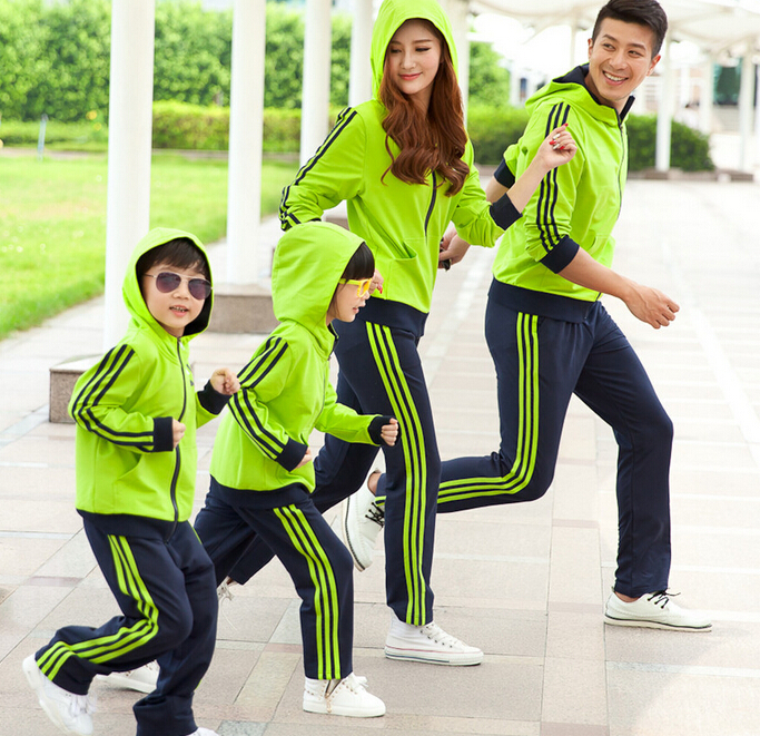 Family Clothing Active Clothes Set for Mother and Daughter Clothes Set Father and Son Family Clothing Sets Autumn PRI06-1<br><br>Aliexpress