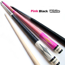 New 1/2 Jointed American 8 Custom Billiard Pool Cues Nine Ball Arm With Stick Bag Billiard Pool Cue Stick Pink/Black/White(China)