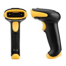 1D 2D QR Code Image Barcode Scanner Scanning Barcode for Windows/ Vista/ Android /IOS Devices Barcode Reader USB Interface (Bl
