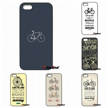 Love Bike Bicycles quotes Art Poster Phone Cover Case For iPhone 4 4S 5 5C SE 6 6S 7 Plus Galaxy J5 J3 A5 A3 2016 S5 S7 S6 Edge
