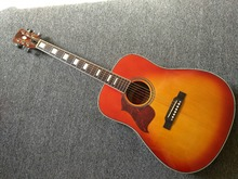 left hand Acoustic guitar Cherry Sunburst hummingbird Acoustic Guitar in Stock