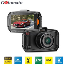 Gotomato Car DVR Ambarella A7LA70 GS90C 1296P 30FPS Car Camera Video Recorder G90C 170 Degree HDR H.264 Black Box GPS Module