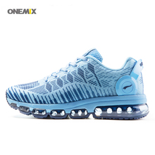 ONEMIX 2017 Women's sport running shoes mesh flexible cross trainer lite sneakers soft sole lace-up breathe air athletic 1216B