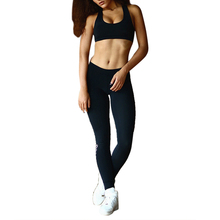 Women Set Fitness Clothing Suit Two Piece Sportswear Vest And Pants Suits Crop Top Shirts And Skinny Legging Women Tracksuit Set(China)